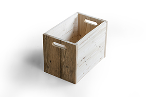 Kiste Aufbewahrung Altholz