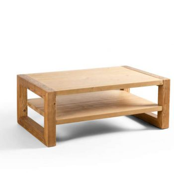 Canape table wood
