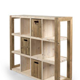 Regalbereich Raum Trenner Holz