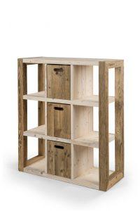 Regal Raumtrenner aus Holz