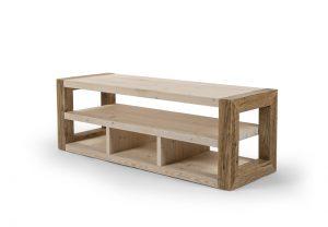 TV Tisch Fernseher Holz