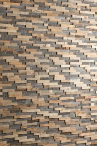 Holzverkleidung Wand