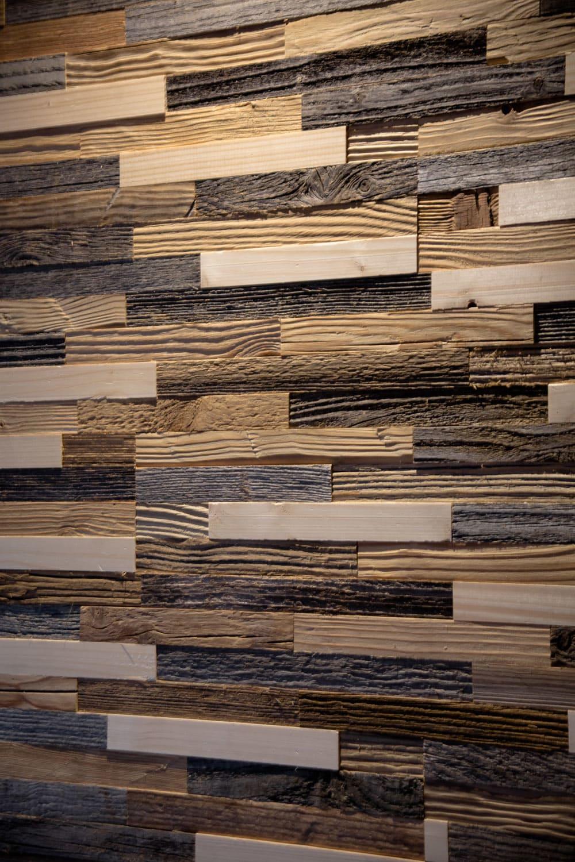 Holzwand Altholz Tanne Kiefer