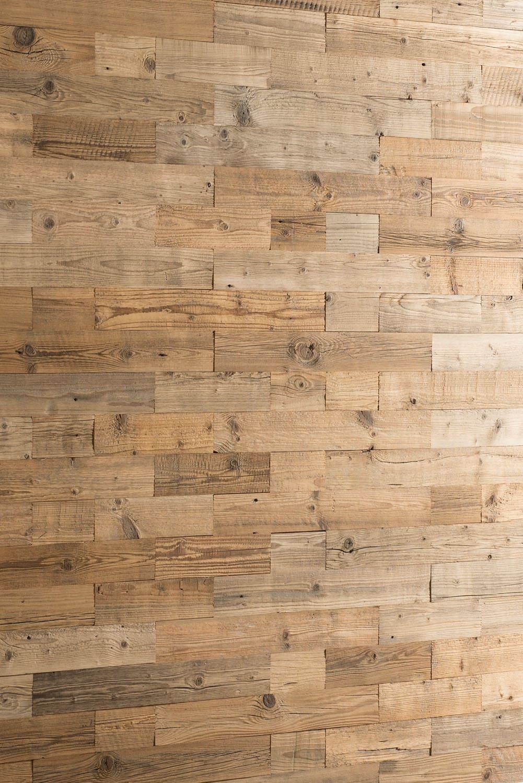 Holzwand 3D