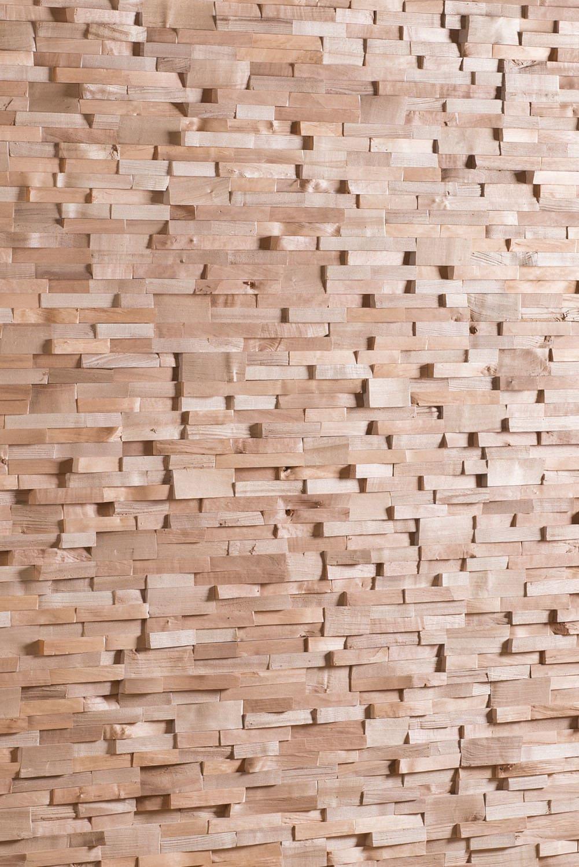Wandverkleidung massiv Holz