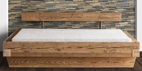 bett mit bettkasten altholz und stauraum parquet b hm shop. Black Bedroom Furniture Sets. Home Design Ideas