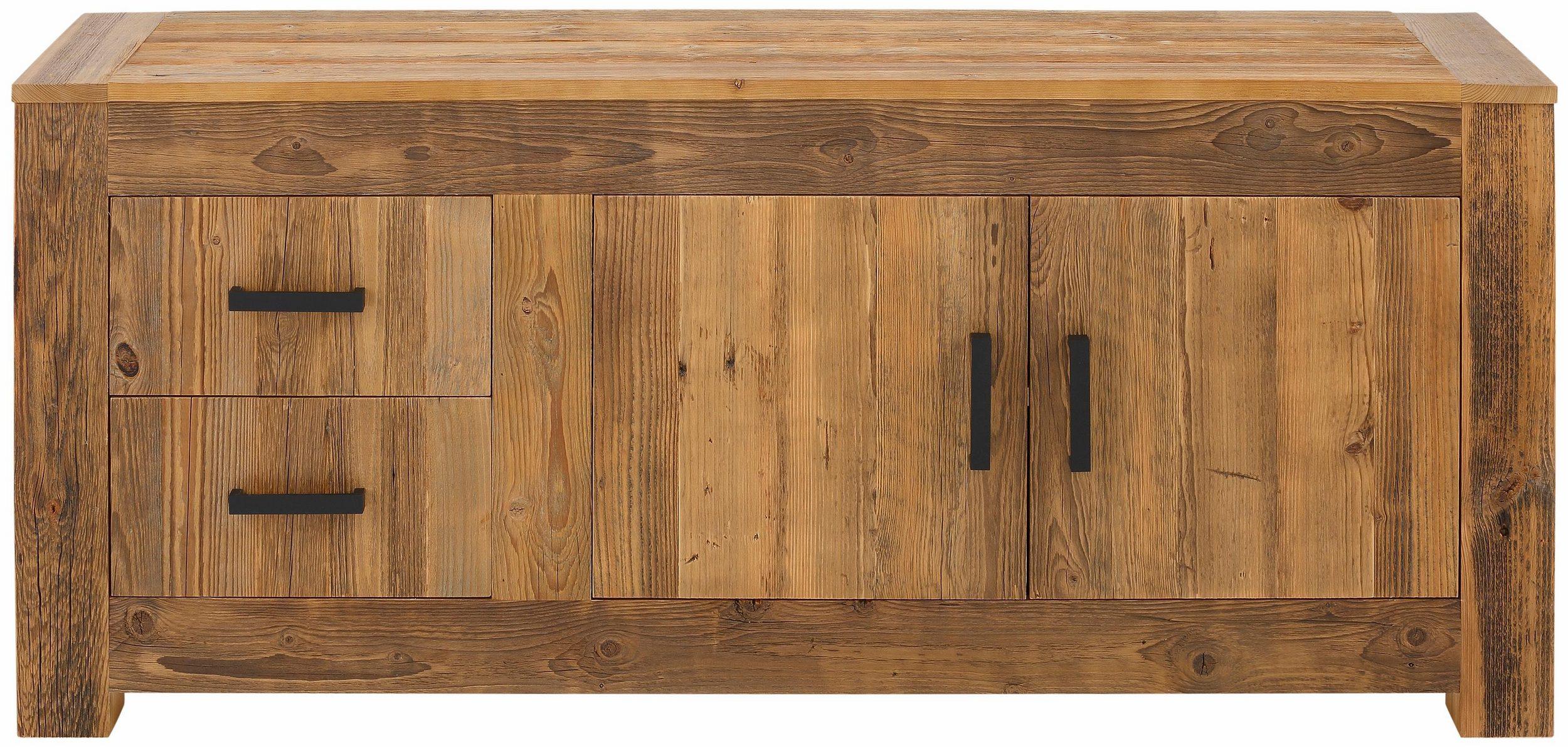 sideboard old collection 2 t ren 2 schubladen parquet. Black Bedroom Furniture Sets. Home Design Ideas
