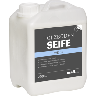 Holzbodenseife Mafi weiss